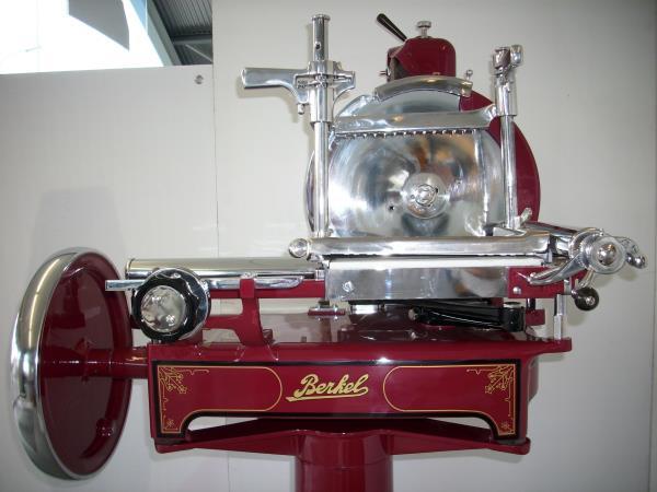 Trancheuse berkel manuelle occasion tracteur routier occasion renault - Machine a couper le jambon berkel ...